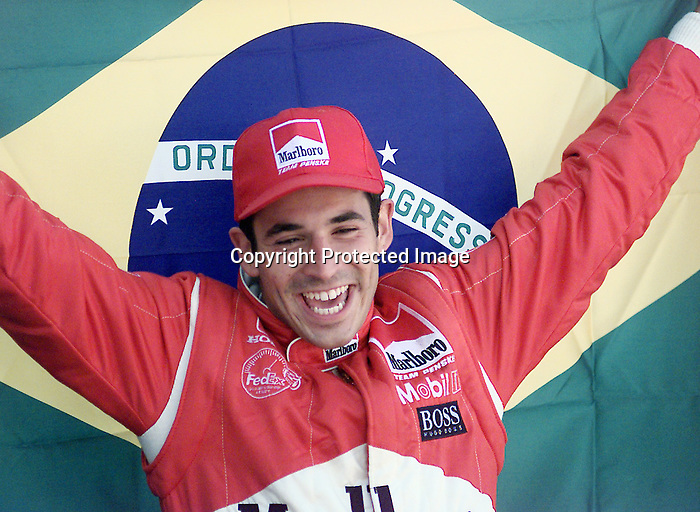 Helio Castroneves  winner<br /><br />PHoto Rosh Sillars 6/18/2000