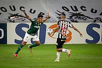 Belo Horizonte (MG) 14/08/21 - Atlético-MG-Palmeiras - Gabriel Menino durante partida entre Atlético-MG e Palmeiras , válida pela décima  sexta rodada do Campeonato Brasileiro no Estadio Mineirão em Belo Horizonte neste sábado (14)
