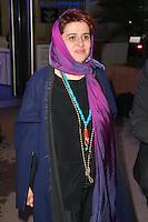 katayoon shahabi quittant le palais des festivals apres le repas d ouverture du soixante neuvieme festivals du film a cannes se deroulant au salon des ambassadeurs le mercredi 11 mai 2016