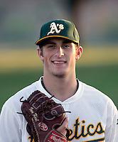 Ian Krol - AZL Athletics (2009 Arizona League)..Photo by:  Bill Mitchell/Four Seam Images..