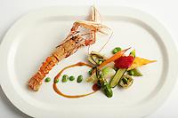 Chef's Olivier Reginensi crawfish dish