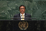 General Assembly Seventy-fourth session, 5th plenary meeting<br /> <br /> His Excellency Tommy Esang Remengesau, Jr., President, Republic of Palau