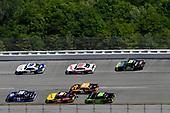 #19: Brandon Jones, Joe Gibbs Racing, Toyota Camry Toyota XYO Networks, #22: Austin Cindric, Team Penske, Ford Mustang Fitzgerald Glider Kits and #9: Tyler Reddick, JR Motorsports, Chevrolet Camaro ARMOUR Chili
