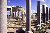 leptis magna Forum ruins, Libya