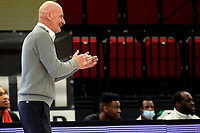 06-03-2021: Basketbal: Donar Groningen v ZZ Feyenoord: Groningen Feyenoord coach Toon van Helfteren