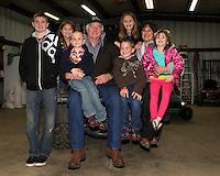 Gary & Donna with their grandchildren.