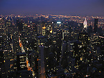 View of midtown Manhattan in New York City.