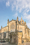 Europe, Great Britain, Scotland, Edinburgh, Market Square & St. Giles Cathedral