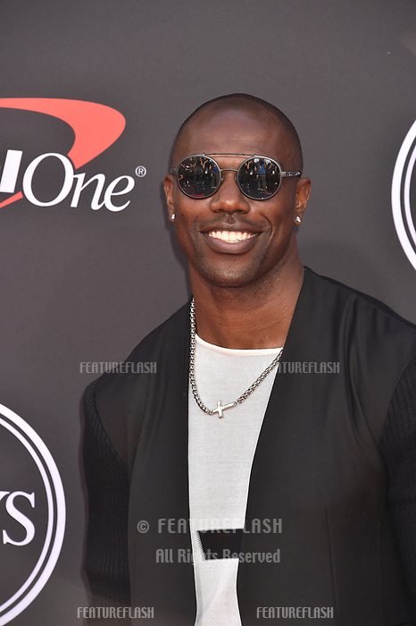 LOS ANGELES, USA. July 10, 2019: Terrell Owens at the 2019 ESPY Awards at the Microsoft Theatre LA Live.<br /> Picture: Paul Smith/Featureflash