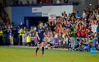 ORLANDO, FL - MARCH 05: Christen Press #23 of the United States during a game between England and USWNT at Exploria Stadium on March 05, 2020 in Orlando, Florida.