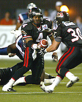 Kerry Joseph Ottawa Renegades 2003. Photo Scott Grant