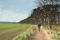 The John Muir Way near Dirleton, East Lothian