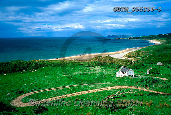 Tom Mackie, LANDSCAPES, LANDSCHAFTEN, PAISAJES, FOTO, photos,+6x9, bay, beach, beaches, beautiful, beauty, building, buildings, coast, coastal, coastline, composition, cottage, cottages,+country lane, curve, destination, destinations, dwelling, Eire, EU, Europa, Europe, European, footpath, holiday destination,+home, horizontal, horizontally, horizontals, house, houses, Ireland, Irish, lane, leading lines, medium format, path, pathway+, remote, remoteness, road, roadway, s bend, s-bend, scene, scenery, scenic, sea, tourism,6x9, bay, beach, beaches, beautifu+,GBTM955356-5,#L#, EVERYDAY ,Ireland