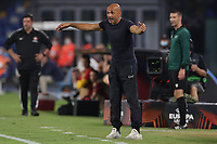 Luciano Spalletti coach of SSC Napoli during the Europa league group C 2021/2022 football match between SSC Napoli and FC Spartak Moskva at Diego Armando Maradona stadium in Napoli (Italy), September 30th, 2021. <br /> Photo Cesare Purini / Insidefoto