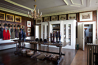 The flower room used for storing hunting and country gere