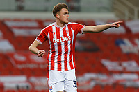 Harry Souttar of Stoke City in action during the Sky Bet Championship match between Stoke City and Swansea City at the Bet365 Stadium, Stoke on Trent, England, UK. Wednesday 03 March 2021