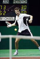 18-2-07,Netherlands, Roterdam, Tennis, ABNAMROWTT, 2nd round qualifier, Jan Hernych