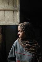 addis abeba, etiopia, donna alla finestra, Woman at the window