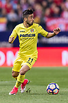 Jaume Vicent Costa Jorda of Villarreal CF in action during the La Liga match between Atletico de Madrid vs Villarreal CF at the Estadio Vicente Calderon on 25 April 2017 in Madrid, Spain. Photo by Diego Gonzalez Souto / Power Sport Images