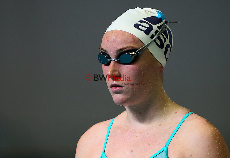 Sophia Batchelor during Day One, session one of the State New Zealand Open Swimming Champs, Westwave Aquatics, Henderson, Auckland, New Zealand. Tuesday 7 April 2014. Photo: Simon Watts/www.bwmedia.co.nz/Swimming New Zealand
