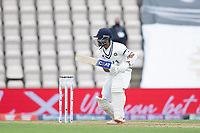 Ajinkya Rahane, India pushes square into the off side during India vs New Zealand, ICC World Test Championship Final Cricket at The Hampshire Bowl on 19th June 2021