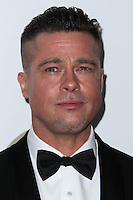 BEVERLY HILLS, CA - JANUARY 19: Brad Pitt at the 25th Annual Producers Guild Awards held at The Beverly Hilton Hotel on January 19, 2014 in Beverly Hills, California. (Photo by Xavier Collin/Celebrity Monitor)