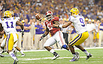 Alabama defeats LSU, 21-0, in the BCS Championship played at the Mercedes-Benz Superdome.  Included in this gallery are just a few images from my coverage.<br /> <br /> Images within this gallery are not available for purchase or further distribution and appear solely as a representation of my photography.