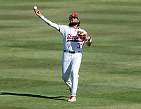 STANFORD, CA - JUNE 5: Brett Barrera before a game between UC Irvine and Stanford Baseball at Sunken Diamond on June 5, 2021 in Stanford, California.