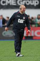 Richard Cockerill, Leicester Tigers Director of Rugby, during the Aviva Premiership semi final match between Saracens and Leicester Tigers at Allianz Park on Saturday 21st May 2016 (Photo: Rob Munro/Stewart Communications)