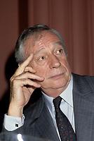FILE PHOTO -  L'acteur Yves Montant<br /> en Octobre 1986<br /> <br /> <br /> PHOTO :   Agence quebec Presse