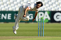Shane Snater of Essex in bowling action during Nottinghamshire CCC vs Essex CCC, LV Insurance County Championship Group 1 Cricket at Trent Bridge on 6th May 2021