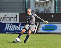 Club Brugge Dames : Kim Dossche.Foto DAVID CATRY / Vrouwenteam.be