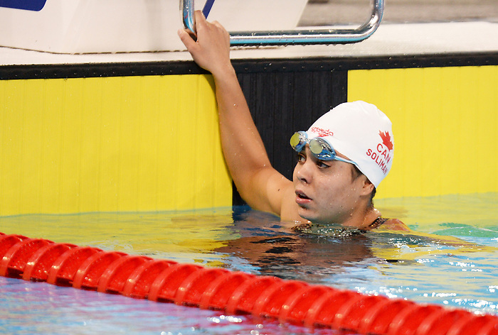Myriam Soliman, Lima 2019 - Para Swimming // Paranatation.<br /> Myriam Soliman competes in Para Swimming // Myriam Soliman participe en paranatation. 26/08/19.