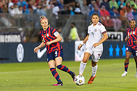 EAST HARTFORD, CT - JULY 1: Becky Sauerbrunn #4 of the United States during a game between Mexico and USWNT at Rentschler Field on July 1, 2021 in East Hartford, Connecticut.