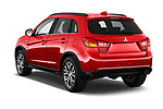 Car pictures of rear three quarter view of 2017 Mitsubishi ASX Instyle 5 Door SUV Angular Rear