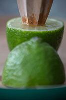 Gastronomie  Générale / Citron vert bio //  General Gastronomy / Organic lime