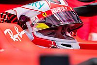10th 2020, Nuerburgring, Nuerburg, Germany; FIA Formula 1 Eifel Grand Prix, Qualifying sessions;  16 Charles Leclerc MCO, Scuderia Ferrari Mission Winnow
