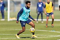 BRADENTON, FL - JANUARY 19: Eryk Williamson moves with the ball during a training session at IMG Academy on January 19, 2021 in Bradenton, Florida.