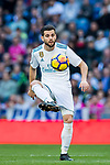 Nacho Fernandez of Real Madrid in action during the La Liga 2017-18 match between Real Madrid and RC Deportivo La Coruna at Santiago Bernabeu Stadium on January 21 2018 in Madrid, Spain. Photo by Diego Gonzalez / Power Sport Images