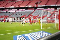 23rd May 2020, Allianz Arena, Munich, Germany; Bundesliga football; Bayern Munich versus Eintracht Frankfurt; Thomas MUELLER,  FCB 25 scores for  2-0 past keeper Kevin TRAPP, FRA 1