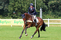 5th September 2021; Bicton Park, East Budleigh Salterton, Budleigh Salterton, United Kingdom: Bicton CCI 5* Equestrian Event; Pippa Funnell riding Billy Walk On celebrates second place at Bicton 5*