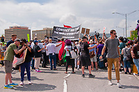 Protesters Try to March on the Kennedy Expressway Park Ridge Illinois 9-3-18