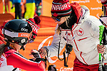 Frederique Turgeon, PyeongChang 2018 - Para Alpine Skiing // Ski para-alpin.<br /> Frederique Turgeon after the women's standing super-G // Frederique Turgeon après super-G debout féminin. 11/03/2018.