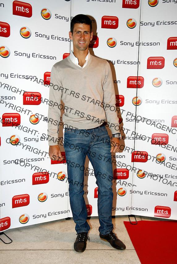 "Novak Djokovic, Players Party, Novak restaurant, ATP 250 series tennis tournament ""Serbia Open"" in Belgrade, Serbia, Tuesday, April 26. 2011. (photo: Pedja Milosavljevic / SIPA PRESS)"