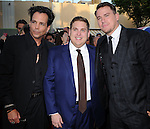 Richard Grieco, Jonah Hill and Channing Tatum attends The Columbia Pictures' 22 JUMP STREET Premiere held at The Regency Village Theatre in Westwood, California on June 10,2014                                                                               © 2014 Hollywood Press Agency