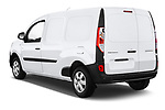 Car pictures of rear three quarter view of a 2018 Renault Kangoo ZE Maxi ZE 2 places 4 Door Car van angular rear