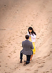 Michael's Proposal On The Beach<br /> American Yacht Club<br /> Westchester, New York