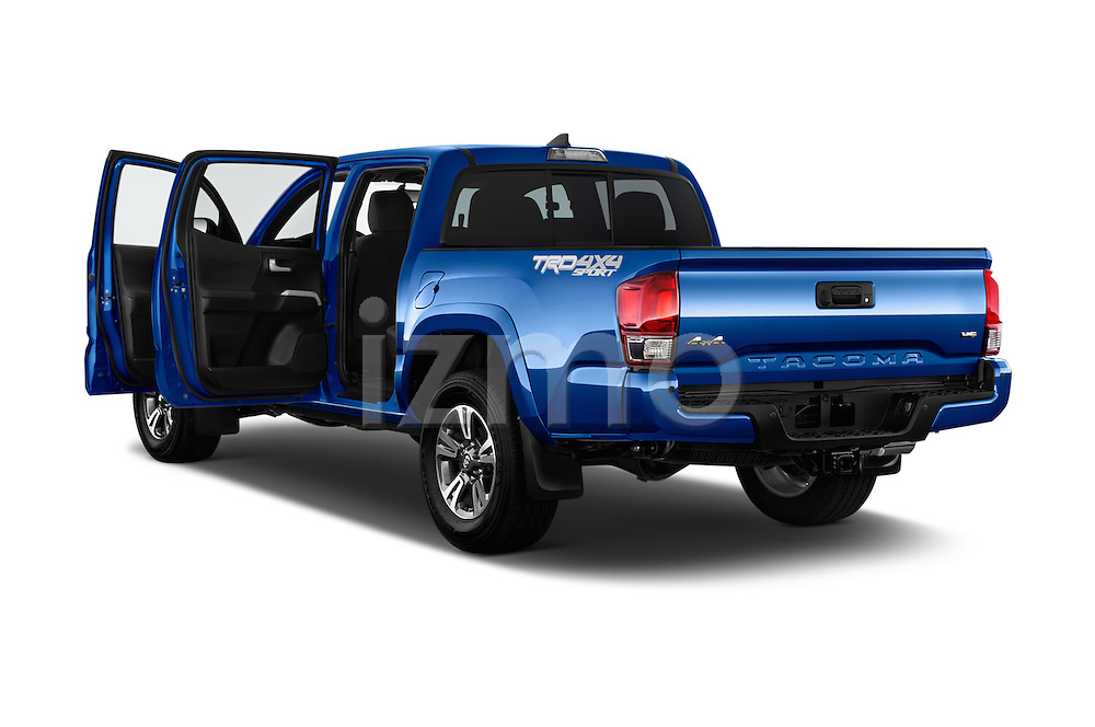 Car images of 2016 Toyota Tacoma TRD Sport 4 Door Pickup Doors