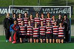 Counties Manukau team photo. 2021 National Women's Under-18 Hockey Tournament at National Hockey Stadium in Wellington, New Zealand on Tuesday, 13 July 2021. Photo: Dave Lintott / lintottphoto.co.nz https://bwmedia.photoshelter.com/gallery-collection/Under-18-Hockey-Nationals-2021/C0000T49v1kln8qk