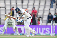 Virat Kohli, India clips to the leg side for runs during India vs New Zealand, ICC World Test Championship Final Cricket at The Hampshire Bowl on 22nd June 2021